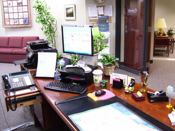 trang trí bàn làm việc 3