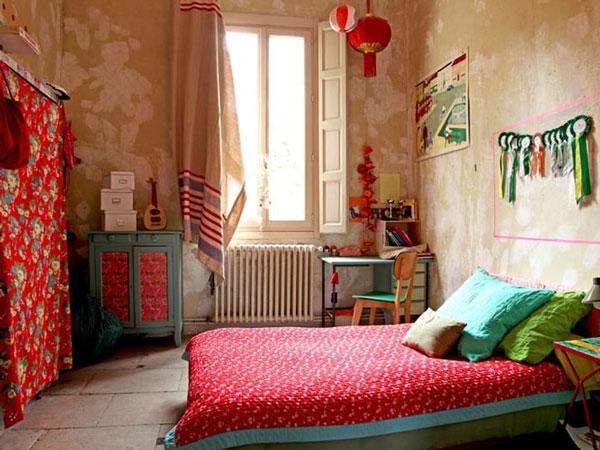 trang trí phòng ngủ đẹp, độc lạ