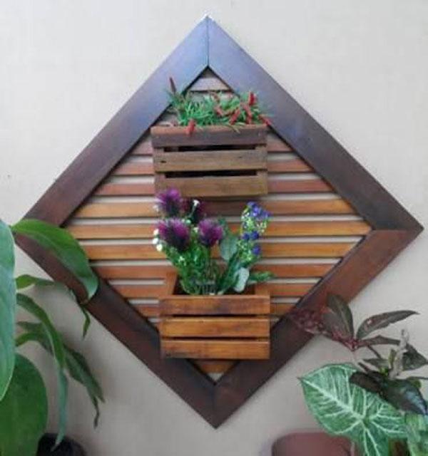 vách gỗ trồng cây trong nhà 1