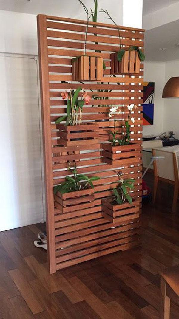 vách gỗ trồng cây trong nhà 7