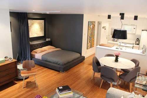 căn hộ studio thiết kế đẹp 6