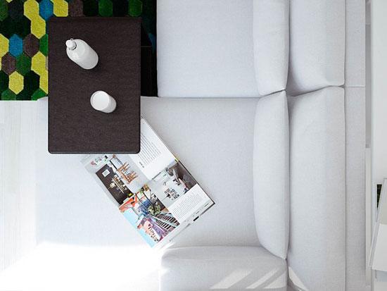 thiết kế nội thất nhà chung cư 40m2 - 10