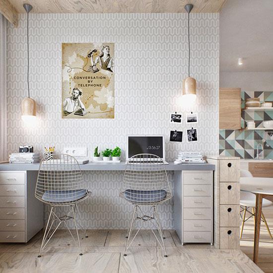 thiết kế nội thất nhà chung cư 40m2 - 13