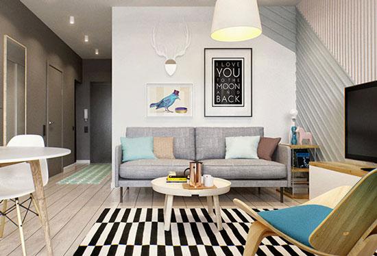 thiết kế nội thất nhà chung cư 40m2 - 17