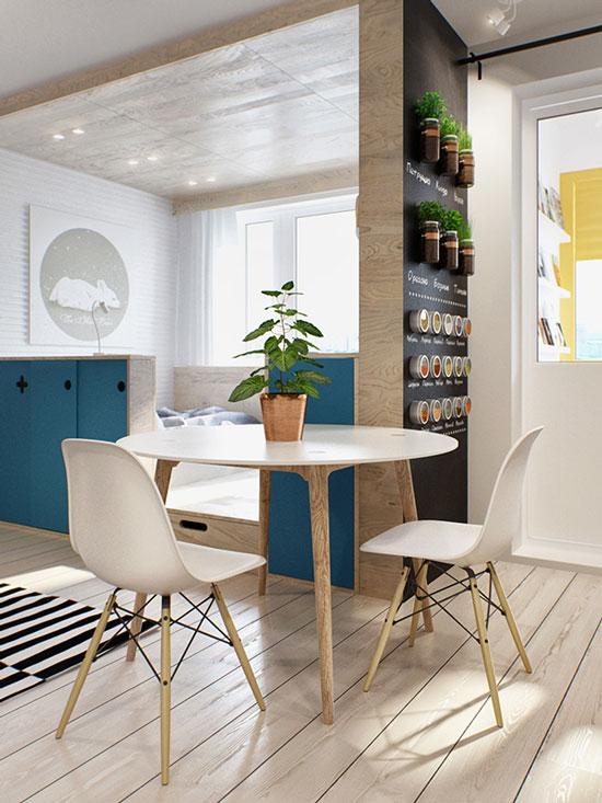 thiết kế nội thất nhà chung cư 40m2 - 19