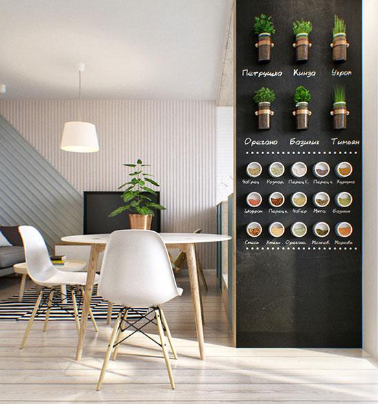 thiết kế nội thất nhà chung cư 40m2 - 20