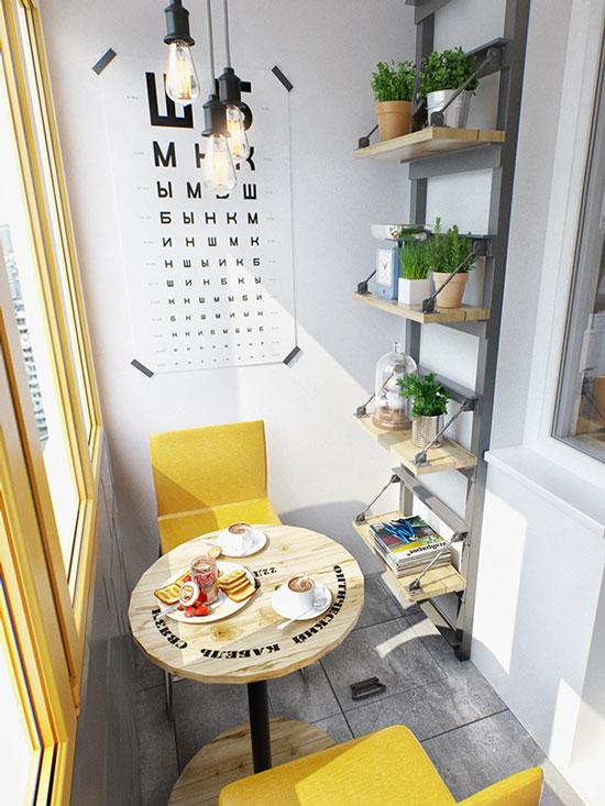 thiết kế nội thất nhà chung cư 40m2 - 22