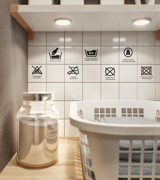 thiết kế nội thất nhà chung cư 40m2 - 24