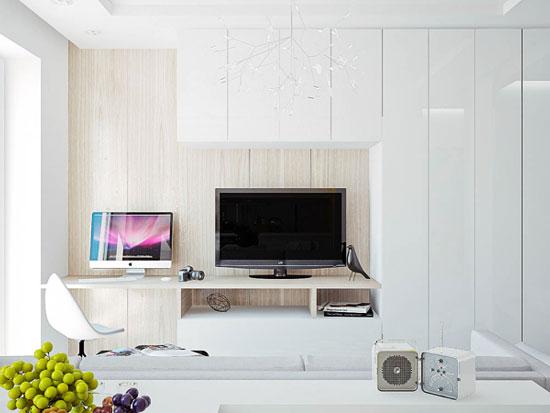 thiết kế nội thất nhà chung cư 40m2 - 4