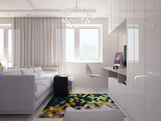 thiết kế nội thất nhà chung cư 40m2 - 5