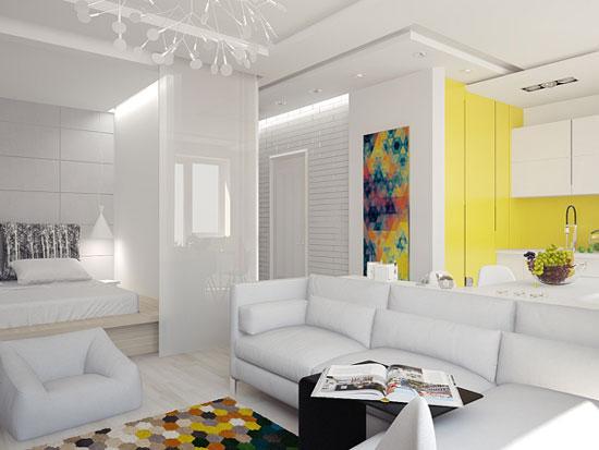 thiết kế nội thất nhà chung cư 40m2 - 8