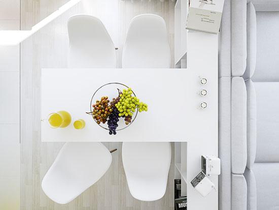 thiết kế nội thất nhà chung cư 40m2 - 9