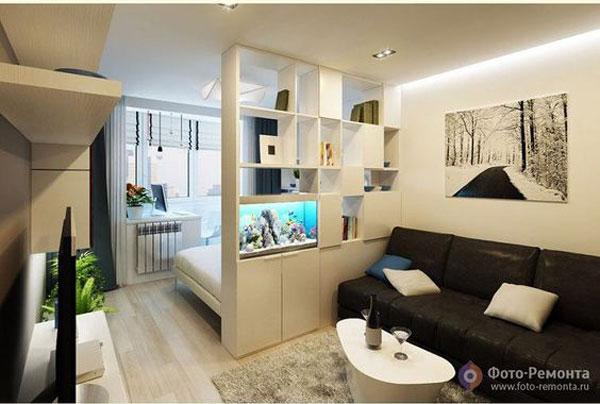 nội thất chung cư mini đơn giản 1