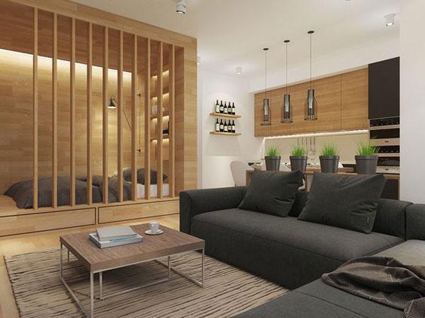 nội thất chung cư mini đơn giản 3