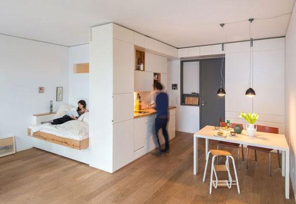 nội thất chung cư mini đơn giản 4