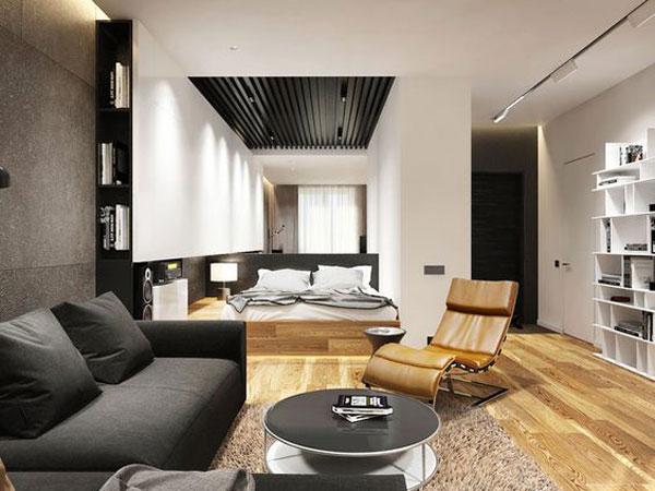 nội thất chung cư mini đơn giản 7