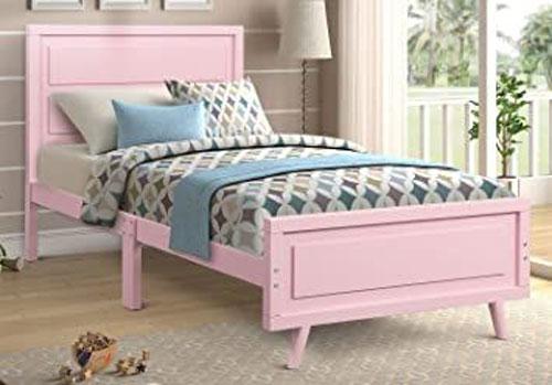 giường ngủ màu hồng 6