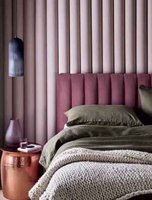 thiết kế phòng ngủ màu hồng xu hướng 1