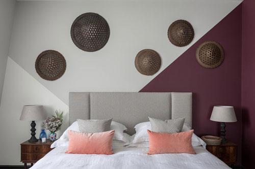 mẫu phòng ngủ màu tím 4