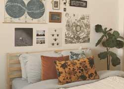 Trang trí tường phòng ngủ