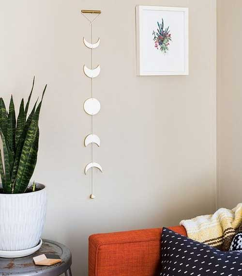 đồ decor bằng kim loại hoặc bằng gỗ