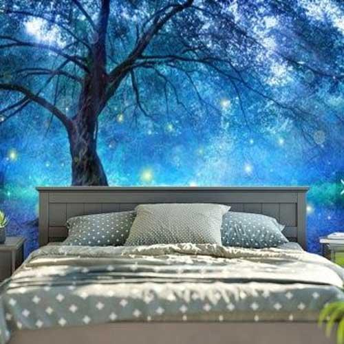 Bạn muốn ngủ ở đâu nào? dưới gốc cây này được không?