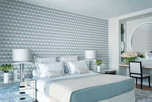 Có hàng ngàn mẫu giấy dán tường để bạn lựa chọn, từ đơn giản