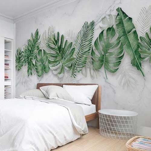 Vẽ lên những bức tường phòng ngủ khiến chúng nghệ thuật hơn, nhiều cảm xúc hơn