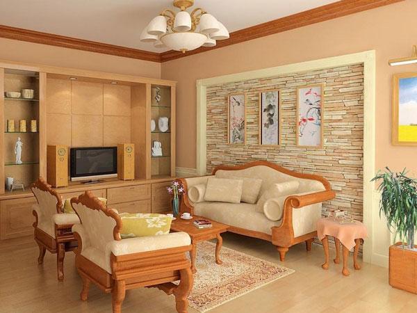 dùng gỗ trong phòng khách 3