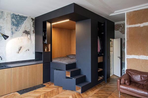 nội thất chung cư mini mẫu 2019 - 1