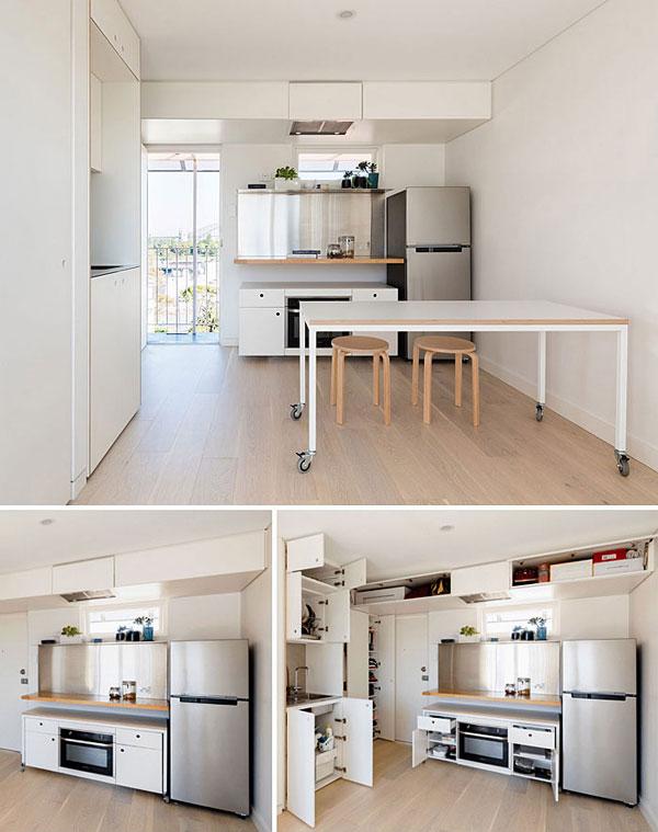 nội thất chung cư mini mẫu 2019 - 10