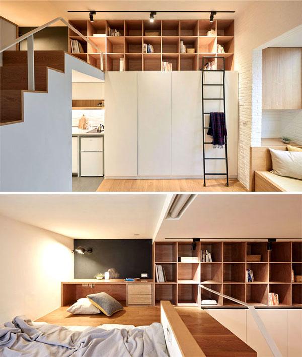 nội thất chung cư mini mẫu 2019 - 16