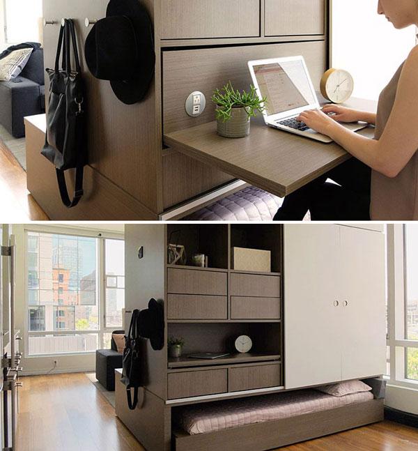 nội thất chung cư mini mẫu 2019 - 17