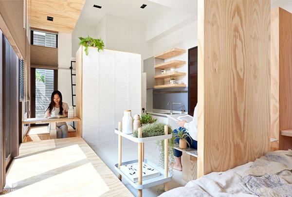nội thất chung cư mini mẫu 2019 - 19