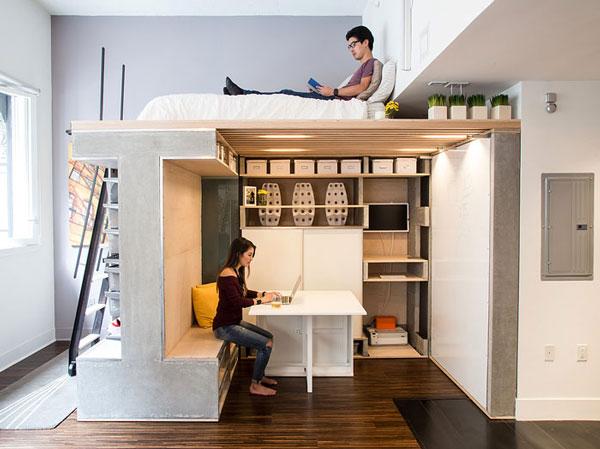 nội thất chung cư mini mẫu 2019 - 2