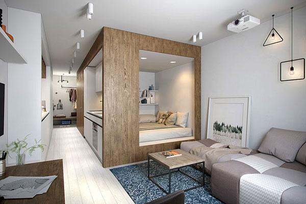 nội thất chung cư mini mẫu 2019 - 24