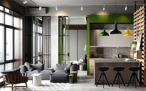 nội thất chung cư mini mẫu 2019 - 3