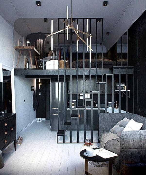 nội thất chung cư mini mẫu 2019 - 5