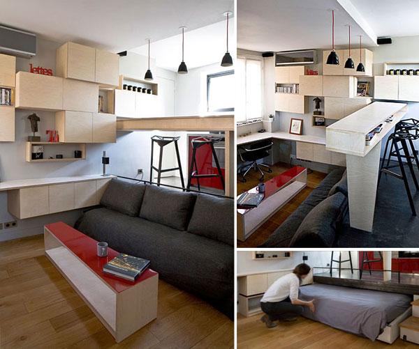 nội thất chung cư mini mẫu 2019 - 8