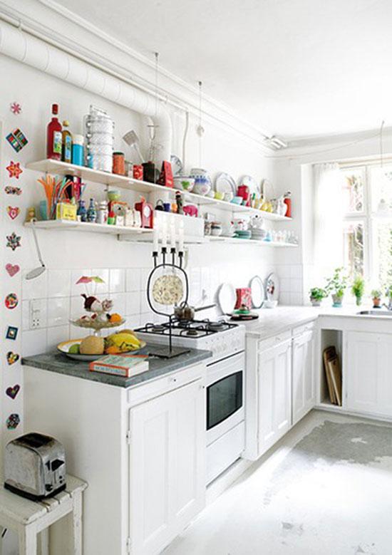 mẫu phòng bếp thiết kế đơn giản 2