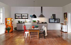 Mẫu phòng bếp đơn giản