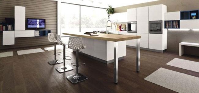 thiết kế nội thất phòng khách liền phòng ăn 10