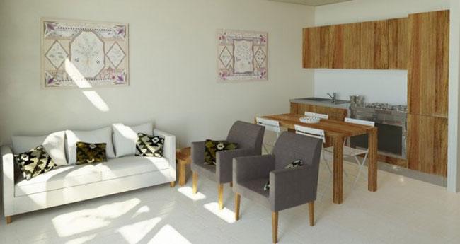 thiết kế nội thất phòng khách liền phòng ăn 14