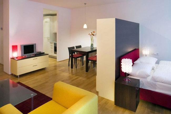 thiết kế nội thất phòng khách liền phòng ăn 16
