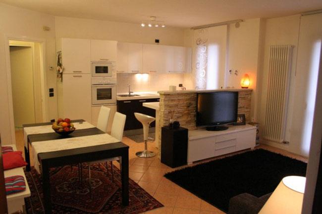 thiết kế nội thất phòng khách liền phòng ăn 3