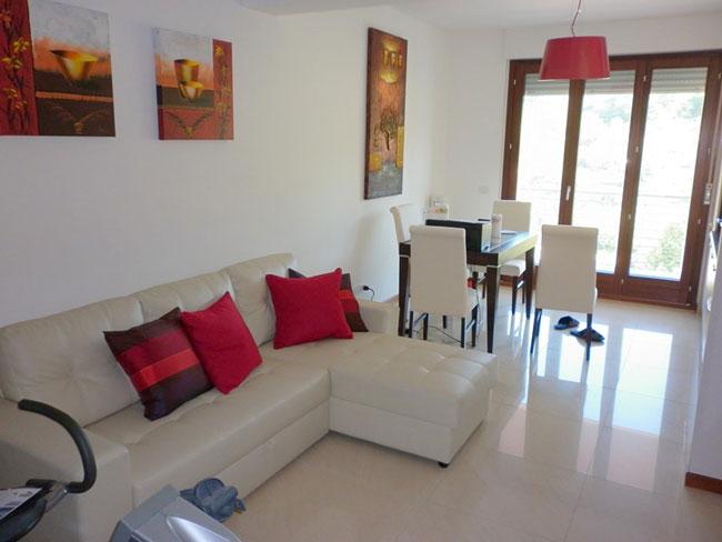 thiết kế nội thất phòng khách liền phòng ăn 4