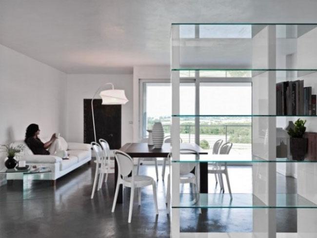 thiết kế nội thất phòng khách liền phòng ăn 6
