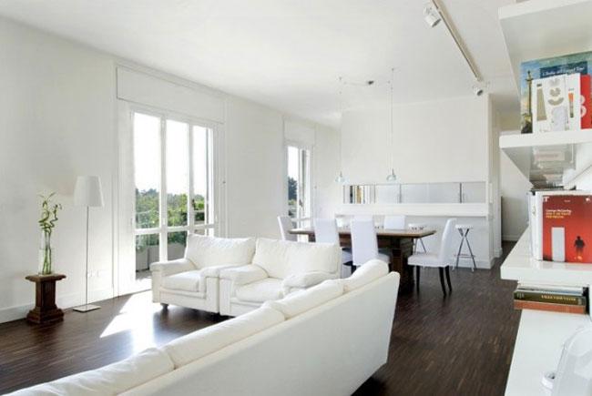 thiết kế nội thất phòng khách liền phòng ăn 9
