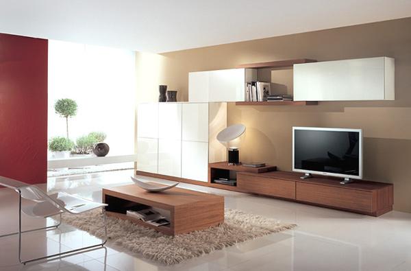mẫu kệ tivi phòng khách hiện đại 10