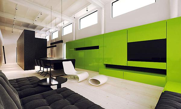 mẫu kệ tivi phòng khách hiện đại 12